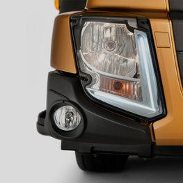 Luces LED de un Volvo FL