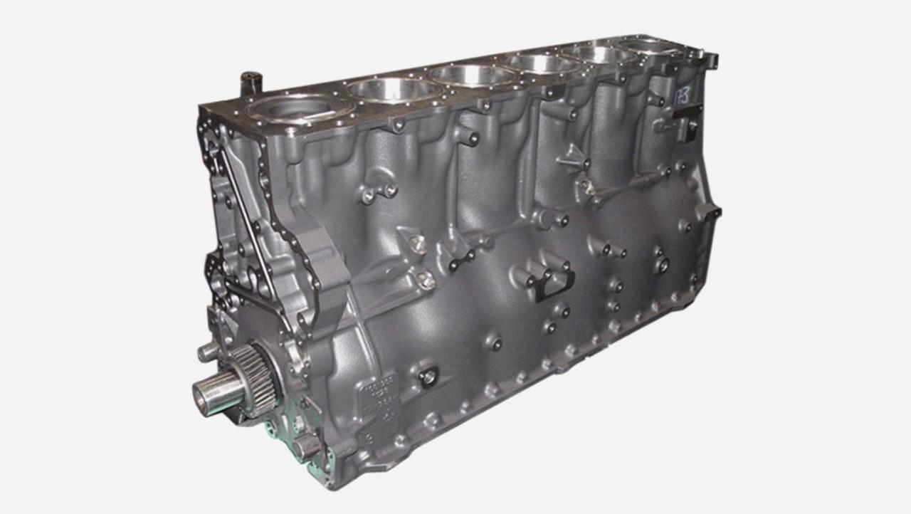 Bloque del motor completo
