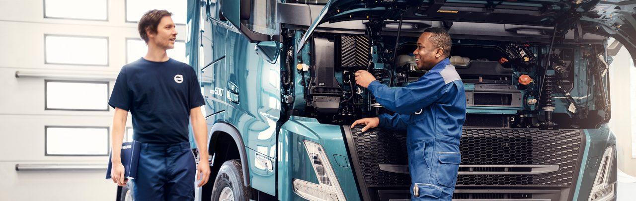 Oferta de puesta a punto de motores de camiones Volvo