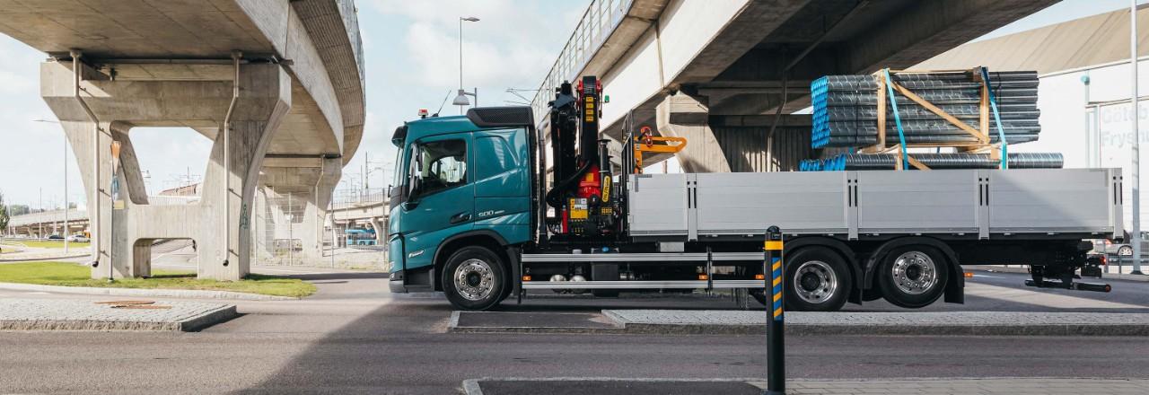 Obtenga su Volvo FM con una amplia gama de disposiciones de ejes, distancias entre ejes y alturas de chasis adaptadas a sus necesidades.