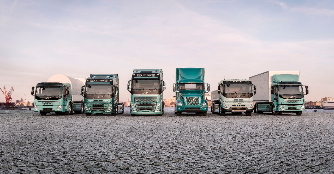 Volvo truckselectric trucks range
